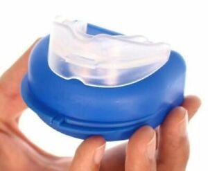 New Anti Snore Stop Snoring Mouth Piece Sleeping Aid Quiet Night Apnea Clip Help