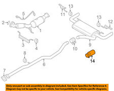 VOLVO OEM 12-15 S60 2.5L-L5-Tail Pipe Extension 31392541