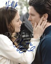 BATMAN BEGINS Christian Bale Katie Holmes Dark Knight Signed Autograph Reprint