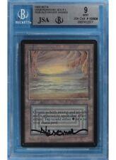 Underground Sea Beta MINT Dual Land BGS 9 Signed MAGIC CARD (gb7412577) ABUGames