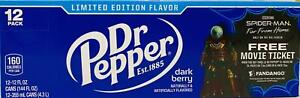 DR PEPPER LIMITED EDITION, FRESH NEW FLAVORS,DARK BERRY,CHERRY VANILLA,CHERRY