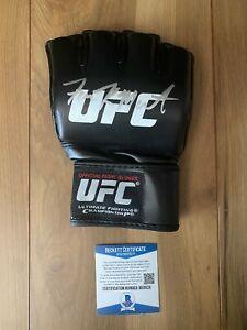 Aljamain Sterling Signed UFC Glove COA Beckett #BA09231 Autographed