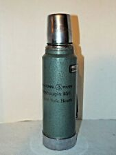 Stanley Aladdin Steel Thermos Vacuum Bottle Vintage 1qt International Paper Mill