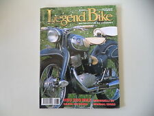 LEGEND BIKE 5/1999 NSU 250 MAX/MORBIDELLI GP 50/GILERA 500/MONDIAL 175 CROSS/BM