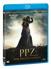 PPZ - PRIDE AND PREJUDICE AND ZOMBIES   BLU RAY