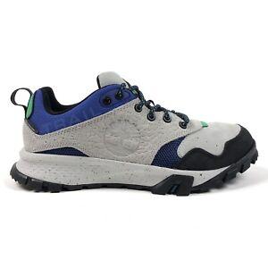 Timberland Garrison Waterproof Low Mens 9.5 Gray Trail Hiking Shoes Sneakers