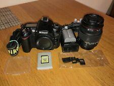 Nikon D90 & Sigma 18-200mm lens