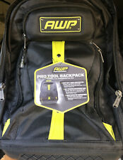 AWP l-22619 Professional tool backpack heavy duty 1680 Denair construction