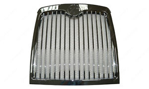 London Taxi TX4 Front Chrome Grill (no badge) Round Badge