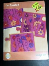 I'm Puzzled Machine Embroidery Inspira