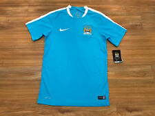 Nike Manchester City FC Flash Men's Soccer Football Jersey Blue S 688136 435 NEW