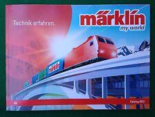 MARKLIN MY WORLD HO 2013 CATALOGO treni locomotive , KATALOG prospekt catalogue