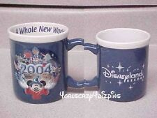 Disney whole new world 2004 mickey  Disneyland Resort mug 12 oz.New