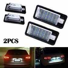 LED Kennzeichen Beleuchtung Audi A4 8E B6 B7 A3 8P A6 4F Q7 keine Fehlermeldung
