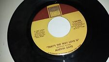 MARVIN GAYE That's The Way Love Is / Gonna Keep On Tryin' Till I TAMLA 54185 45