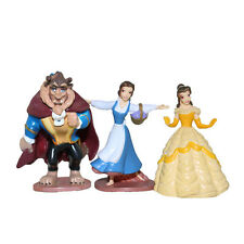 Beauty and the beast  Action Figures Cake Topper Toppers Princess Belle Toys 3pc