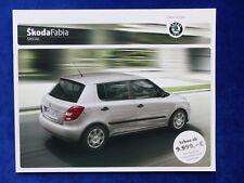 SKODA FABIA RS prospetto di 2005