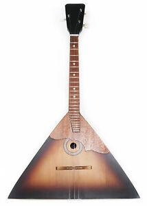 Brand New Russian Balalaika 3 Strings Prima. High Quality! Natural Wood!Sunburn!
