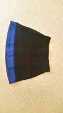 Black & royal blue cheer skirt by Varsity size 9-14