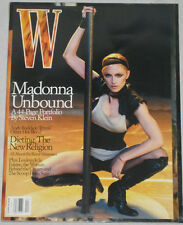 W Magazine April 2003 Madonna Unbound 44-Page Portfolio,Dieting,The Oscars VGC+