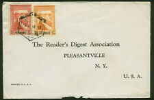 WWII NOT CENSORED COVER MOZAMBIQUE TO NEW YORK--WW2 NOT CENSOR COVER