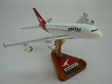 A-380 Qantas Airlines Airbus 380 Airplane Desk Wood Model Big New