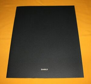 Lamborghini Diablo 1999 Prospekt Brochure Catalogue Depliant Prospetto 28 pages