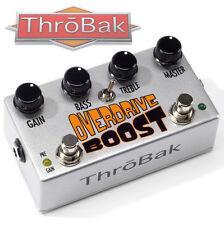 ThroBak Overdrive Boost Vintage Pedal Clone