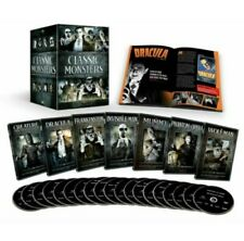 Universal Classic Monsters Complete 30-Film Collection Dvd 21-Disc Box Set