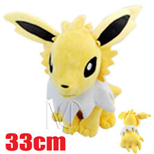 13'' Pokemon Jolteon Plush Toy Soft Stuffed Doll 33cm
