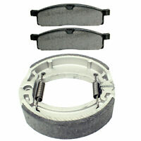 For Yamaha TTR125 TT-R125L LE E 2000-2020 Front Brake Pads and Rear Brake Shoes