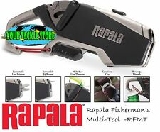 Rapala RFMT Fishermans Multi Tool NIP Scissors Line Threader Jig Eye Punch