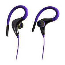 Groov-e GVEB12VT Sport Gym Running Clip On Earhook Earphones Headphones New