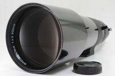 """EXC++"" Pentax SMC 500mm f/4.5 for K mount Manual Lens w/ Case from Japan #0570"