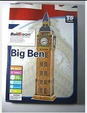 New Buildream BIG BEN 3D Puzzle - 30 PCS BD-BO35 Collectible