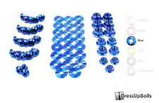 Dress Up Bolts for 02-06 RSX & RSX Type-S Blue Ti Titanium Engine Bay Kit