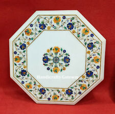Marble Stone Inlay Coffee Table Top, Decorative Marble Handicrafts Table Tops