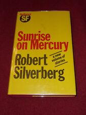 Sunrise on Mercury by Robert Silverberg (1983, HC) first UK edition SIGNED