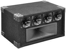 SoundLAB 400W 5 VIE Tweeter Speaker System DJ Discoteca * STRAPPATA BOX *