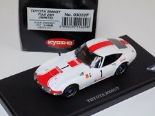 1/43 Kyosho Race Toyota 2000 GT Fuji 24 H White Car #2 03032F