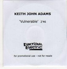 (EP221) Keith John Adams, Vulnerable - 2013 DJ CD