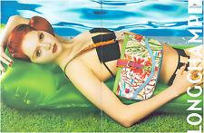 ▬► PUBLICITE ADVERTISING AD LONGCHAMP Sac bag 2 pages