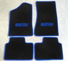 Autoteppich Fußmatten für Opel Manta B Coupe  CC GT/E schwarz blau Neu 4teilig