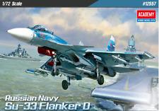 1/72 Russain Navy Su-33 Flanker D / Academy model kit / #12557