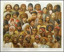 1894_ANTICA CROMOLITOGRAFIA_POPOLAZIONI ASIATICHE.RARA.