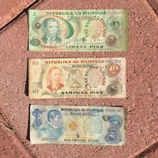 Pilipinas ~ 2, 5, 10 Piso 1949