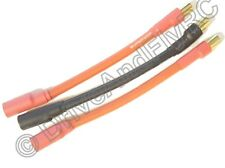 6.5mm Male 6.5mm Female 3 inch 7CM 10AWG Silicon Wire Castle Mambo ESC Extension
