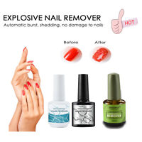 New Brand Burst Magic Remove Gel Nail Polish Soak off Acrylic Clean Degreaser UK