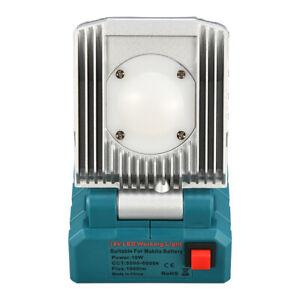 Für Makita Akku LED Arbeitsleuchte Werkstattlampe 14.4/18V Strahler Taschenlampe