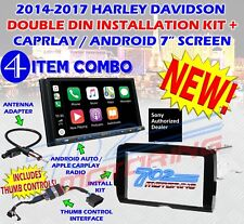 2014-2017 HARLEY DAVIDSON DOUBLE DIN TOUCH SCREEN RADIO KIT WITH SONY XAV-AX5000